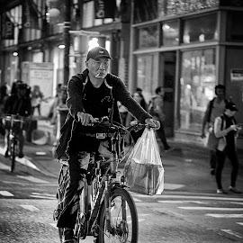 by Dragos Tranca - Black & White Street & Candid