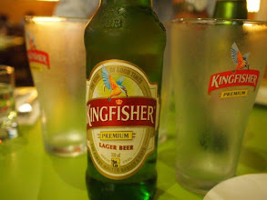 Photo: Kingfisher with chilled glasses! 12th March updated http://jp.asksiddhi.in/daily_detail.php?id=236