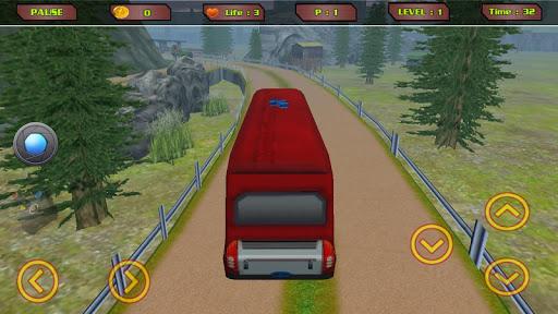 Offroad Tourist Mountain Bus