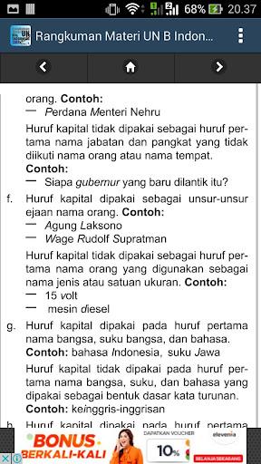 Download Rangkuman Un B Indonesia Smp Google Play Softwares