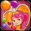 Bubbleshooter Ice Princess Fun icon