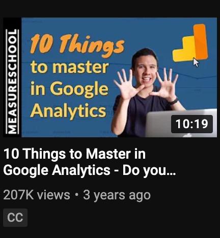 Measure School Youtube video title example