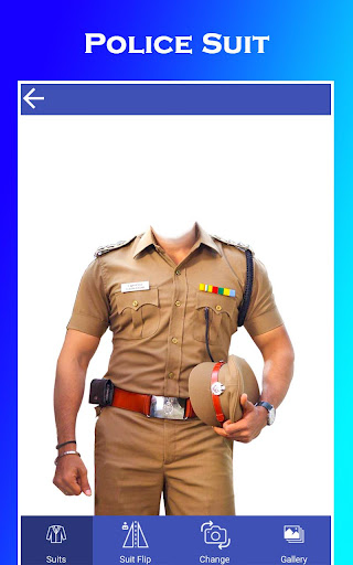 Men Police Suit Photo Editor 2020 Apk 1