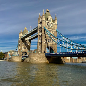 Tower Bridge  by Titus Criste - City,  Street & Park  Historic Districts ( london, tower bridge, iphone,  )
