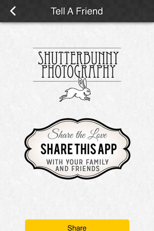 Shutterbunny- screenshot