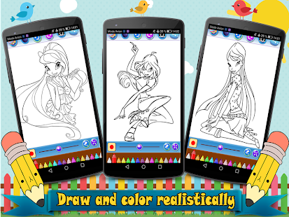 Download Coloring Book Winx Club For PC Windows And Mac Apk Screenshot 3
