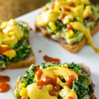 Nacho Avocado Toast {GF & Vegan}