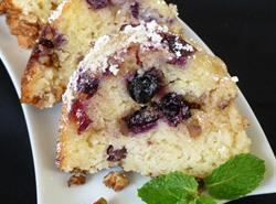 Jim's Blueberry Sour Cream Coffee Cake Recipe