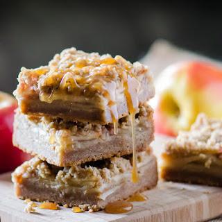 Chai-Spiced Apple Crumble Blondies Recipe