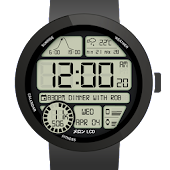 LCD Colors Watchface
