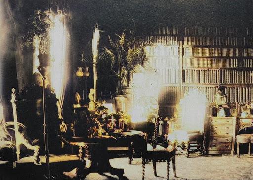 Foto colorizada del fantasma de Lord Combermere