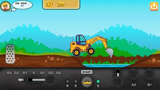 I am an Excavator Runner android2mod screenshots 2