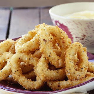 Crumbed Calamari Recipes
