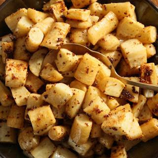 Honey-Mustard Parsnips