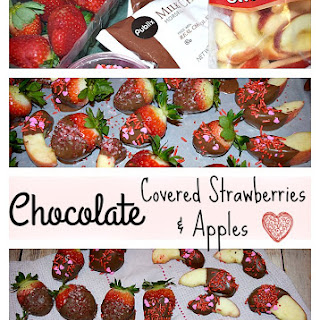 Chocolate Covered Strawberries & Apples