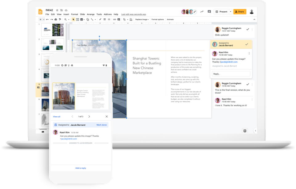 Google Workspace Review Collaboration