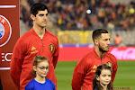 Courtois en 'fat Hazard' geruggensteund door Rode Duivels na kritische vragen van Spaanse pers