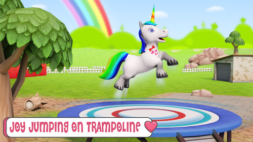 Baby Unicorn Horse Life : Pony Jungle Survival 1.0.5 screenshots 4