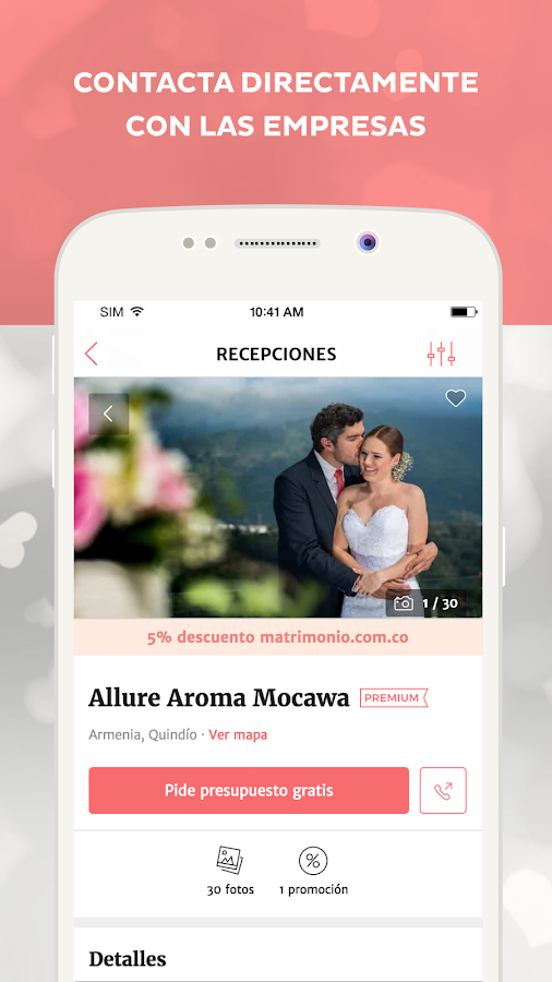 Matrimonio.com.co- screenshot