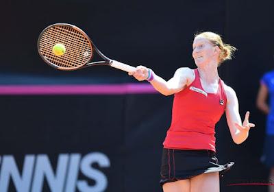 Alison Van Uytvanck remporte son duel sororicide contre Kirsten Flipkens à Saint-Pétersbourg