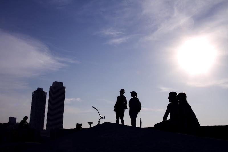 Silhouette in Barcellona di Picone Marco Flavio