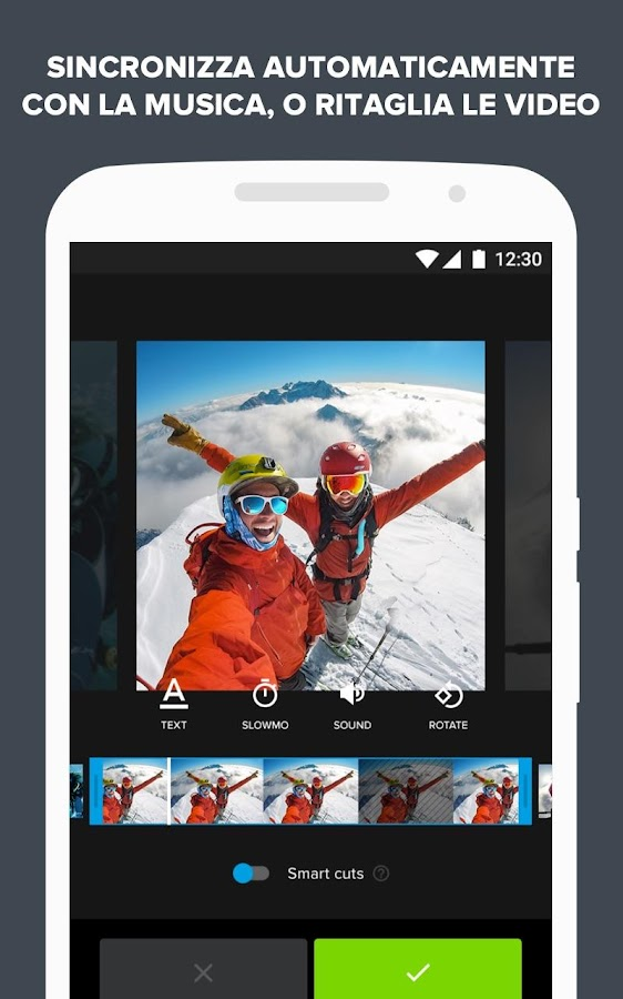 Quik - Video Editor GoPro per le foto con musica- screenshot