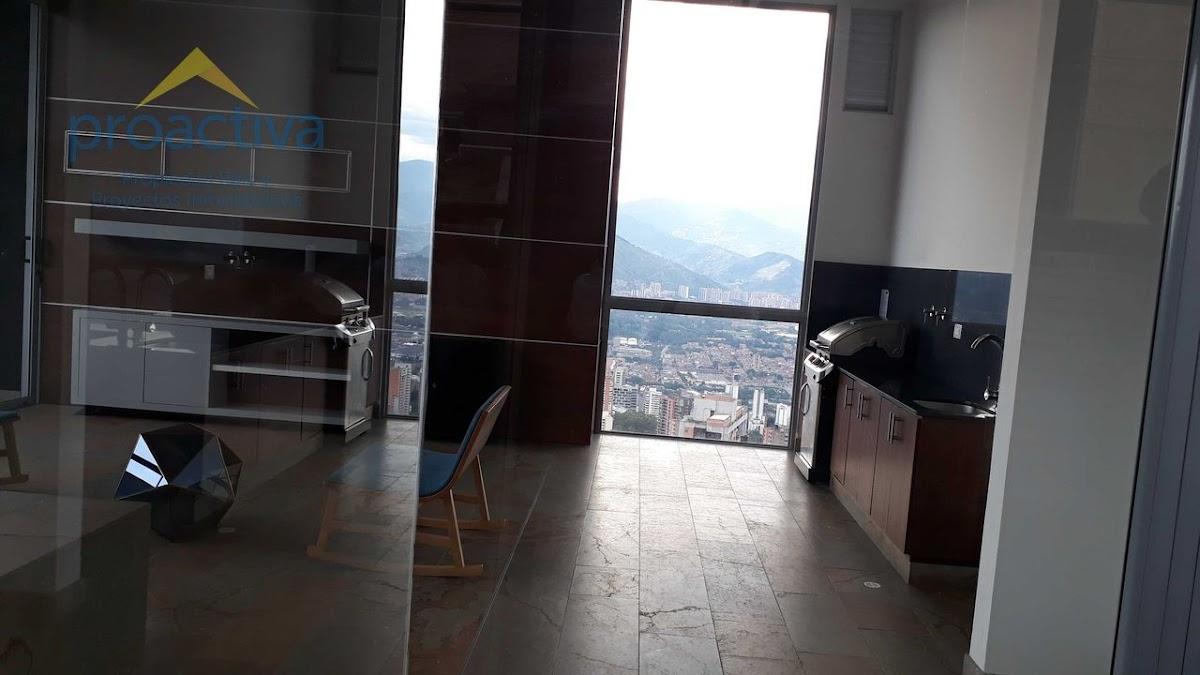 apartamento en arriendo altos del poblado 497-7333