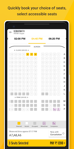 PVR Cinemas screenshot 4