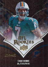 Photo: Chad Henne 2008 Upper Deck Icons RC (#437/750)