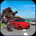 Car Race: Robot Transform