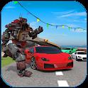 Car Race: Robot Transform icon
