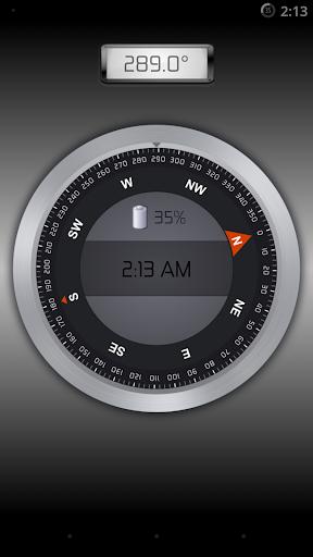 Compass Clock Pro