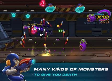 Zetta Man: Metal Shooter Hero Screenshot