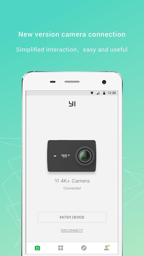 YI Action - YI Action Camera– captura de ecrã