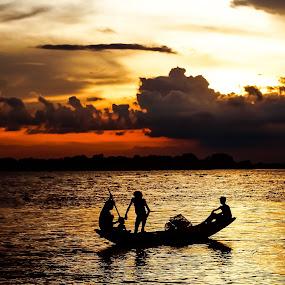 Way to home by Shovan Sam - Landscapes Sunsets & Sunrises ( sony alpha )