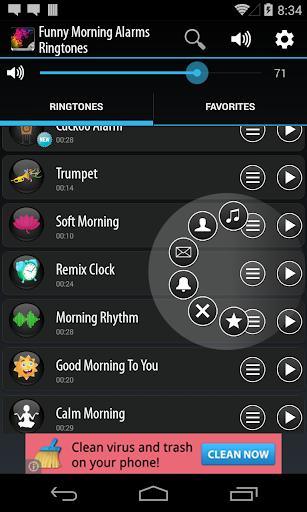 Funny Morning Alarm Ringtones screenshot 3
