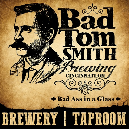 Logo for Bad Tom Smith Brewing-
