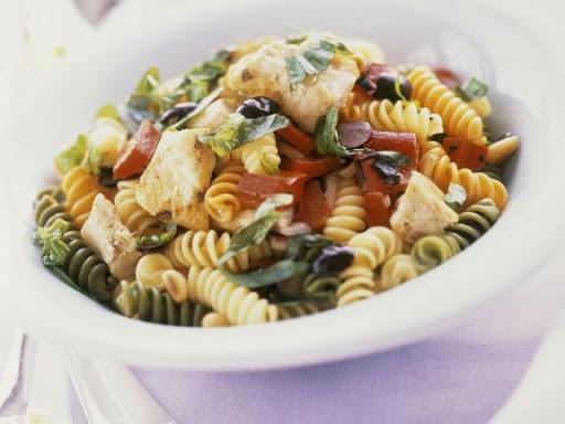 Mixed Fusilli Pasta Salad