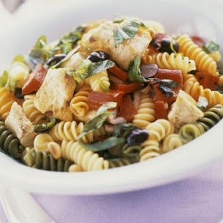 Mixed Fusilli Pasta Salad