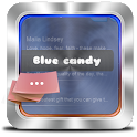 Blue candy GO SMS icon