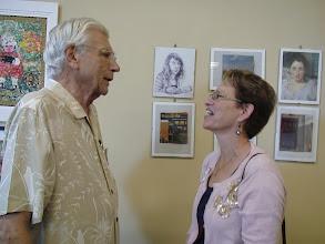 Photo: Les and Margaret Blume / 4-21-13 Les & Sydelle Art exhibit at Weissman Ctr