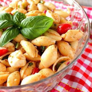 Italian Shell Pasta Salad.