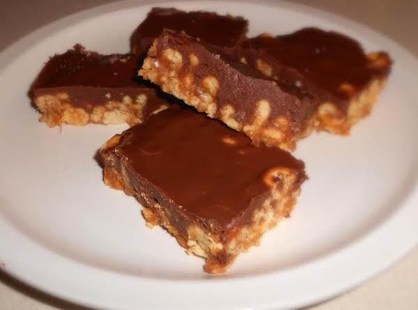 Microwave Peanut Caramel Bars Recipe