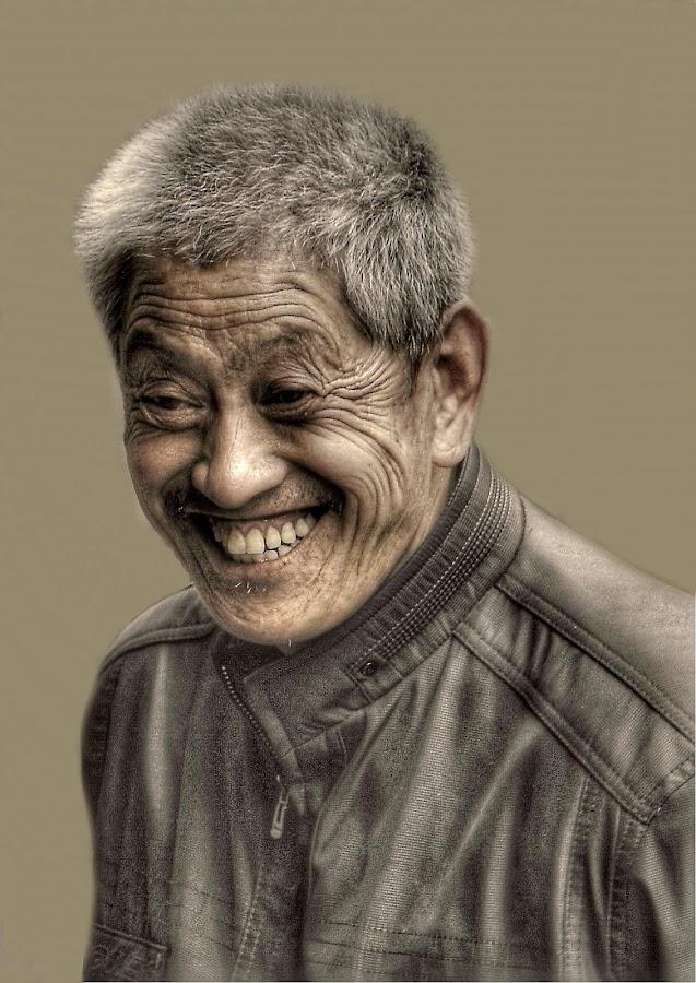 Uncle Shanghai. by Aren Raynavis - People Portraits of Men
