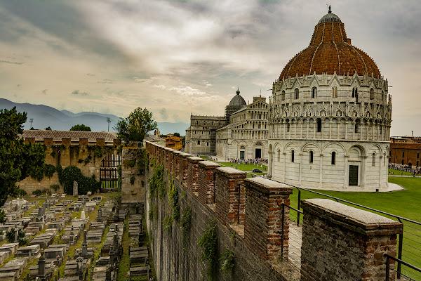 Cimitero Ebraico a Pisa di Podista