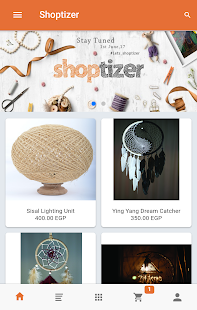 Shoptizer- screenshot thumbnail