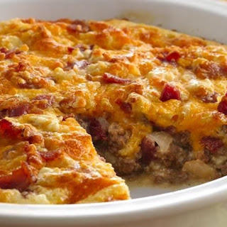 Cheese Bacon Onion Pie Recipes
