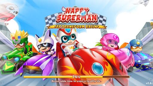 Car Transformers Racing - Car Race Kids  captures d'écran 1