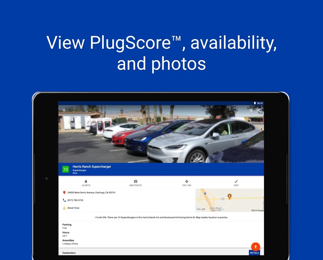 PlugShare- screenshot
