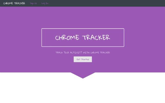Chrome Tracker